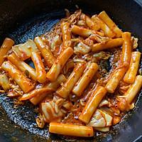 韩国泡菜炒年糕的做法图解7