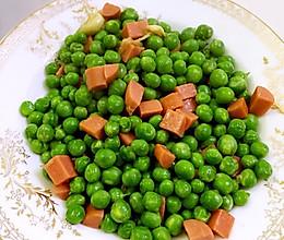 火腿肠炒甜豆的做法