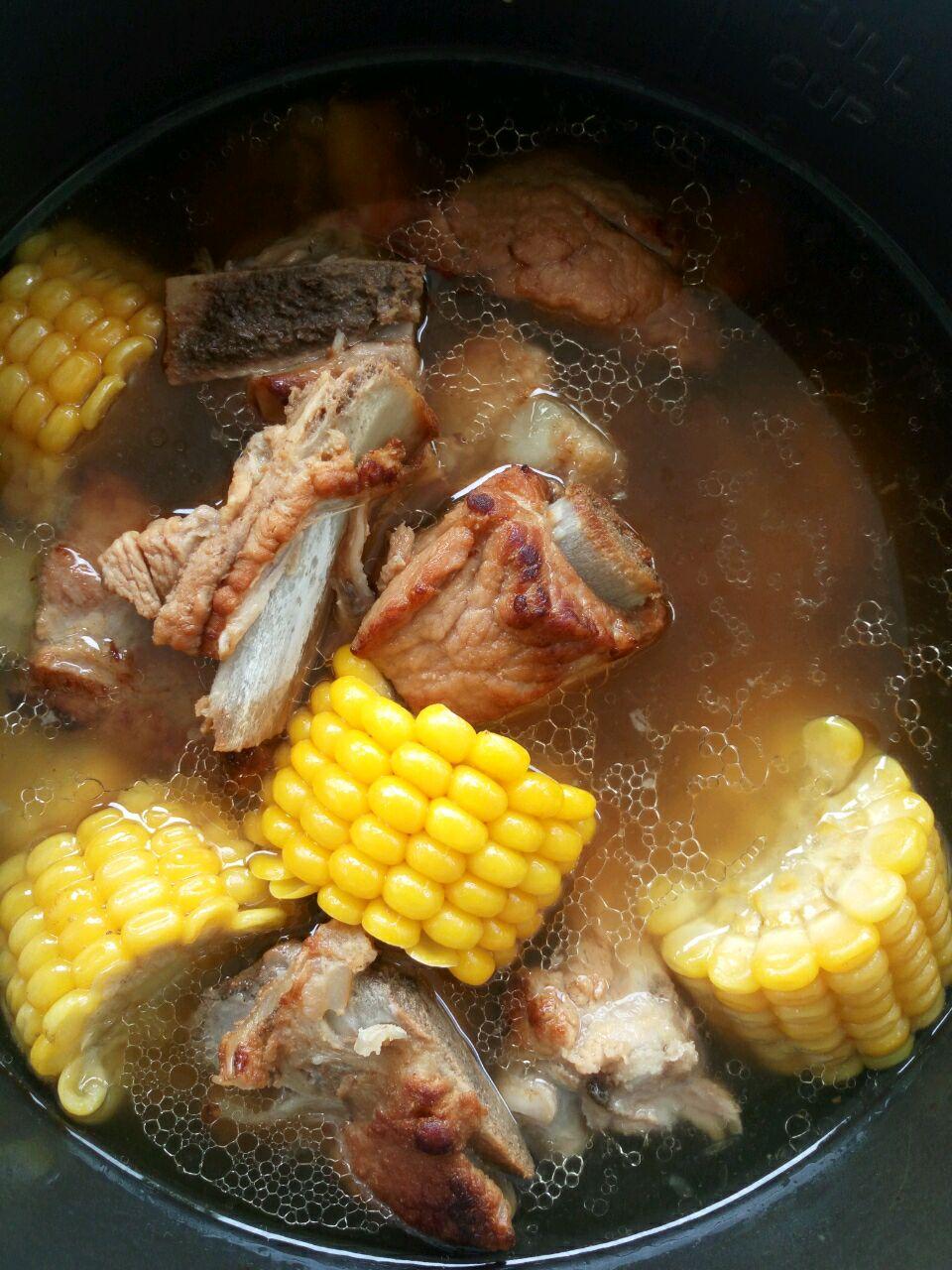 做法炖玉米的阿胶_菜谱_豆果鹅蛋排骨蒸美食可以一起吗图片