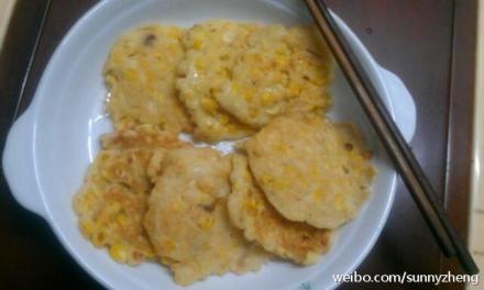 玉米面菜饼的做法大全图解
