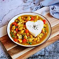 #晒出你的团圆大餐# 咖喱鸡丁土豆饭的做法图解20
