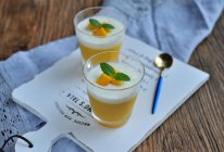 芒果酸奶布丁杯的做法