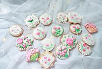 #美味烤箱菜,就等你来做!#田园风糖霜饼干的做法