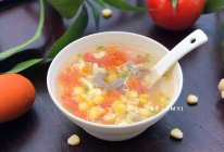 番茄玉米汤的做法