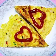 中式披薩~自制雞蛋餅