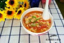 西红柿鸡蛋疙瘩汤(实用早餐系列)的做法