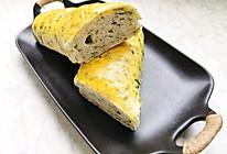 菠菜面包的做法