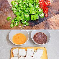 ㊙️外脆里嫩❗香滑多汁❗超下饭的香煎豆腐的做法图解1