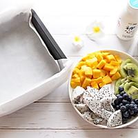 酸奶块果缤纷的做法图解1