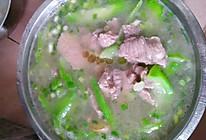 丝瓜瘦肉汤的做法