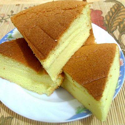 最爱的那份柔软——烫面戚风蛋糕