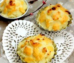 芝士焗白薯——百吉福芝士片创意早餐菜谱的做法
