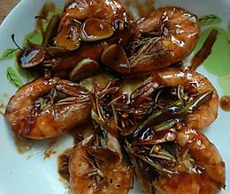 儿童版油焖大虾的做法