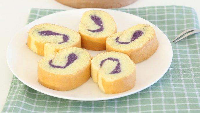 紫薯蛋糕卷 宝宝辅食微课堂