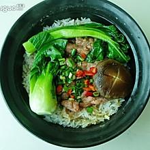 香菇牛肉饭