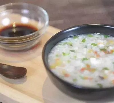 暖心虾蔬粥