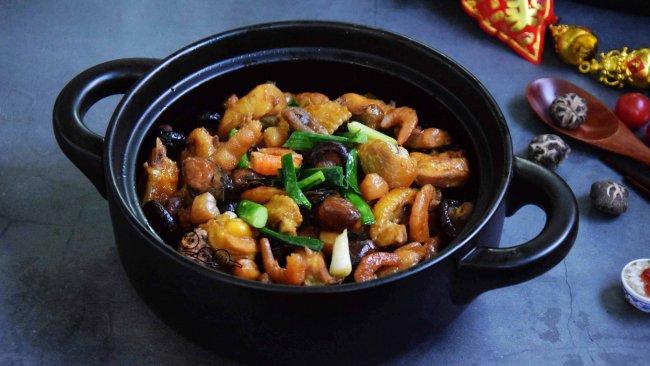 #钟于经典传统味# 香菇蚝豉焖鸡的做法