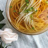 #花10分钟,做一道菜!#阳春面的做法图解8