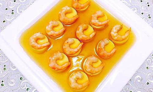 水晶日本豆腐虾仁的做法
