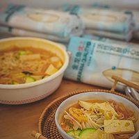 韩式泡菜风味汤面的做法图解9