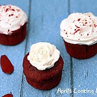 乳酪红丝绒纸杯蛋糕-教你轻松自制sour cream的做法图解16