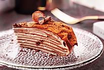 减肥也能吃,低热量山药可可千层蛋糕#令人羡慕的圣诞大餐#的做法