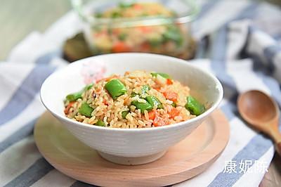 田园糙米饭