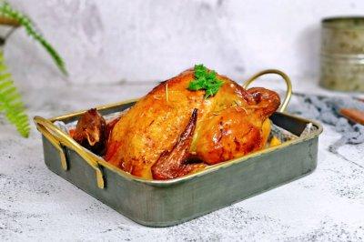 #终于经典传统味#金鸡迎春~黄金烤鸡