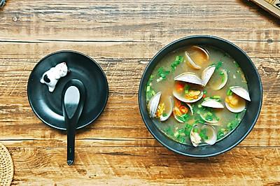 好喝的酒蒸蛤蜊汤