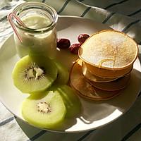 红豆沙铜锣烧 松饼  快手早餐