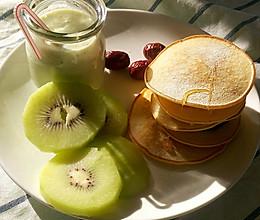 红豆沙铜锣烧 松饼  快手早餐的做法