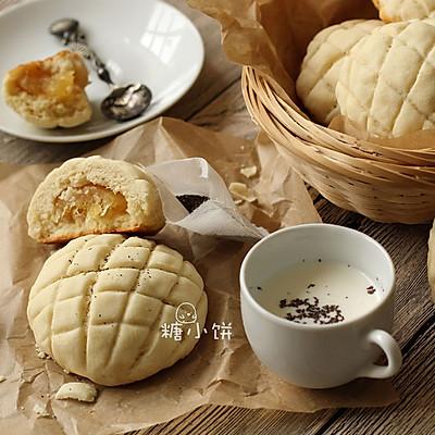 【菠萝夹馅菠萝司康】菠萝夹心+菠萝酥皮