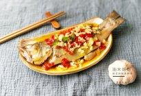 """蒜泥剁椒蒸鲈鱼#在""""家""""打造ins风美食#的做法"""