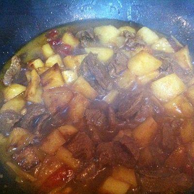 江苏年夜饭必备-火红香辣土豆牛肉的做法 步骤7