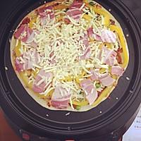 利仁电饼铛试用——海陆双拼披萨(附薄饼底与披萨酱制作)的做法图解12