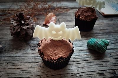 万圣节巧克力马芬蛋糕