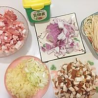 香菇肉酱面#助力高考营养餐#的做法图解1
