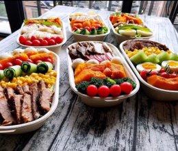 轻食沙拉减脂餐的做法