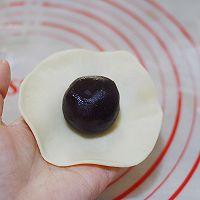 #精品菜谱挑战赛#不裂不爆不混酥,层层分明的经典豆沙蛋黄酥的做法图解29