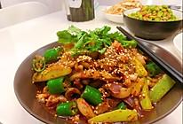 厨房小白也能做出大师味—干锅鱿鱼须的做法
