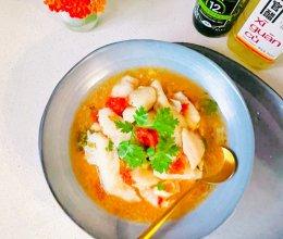 酸汤蕃茄平菇鱼片的做法