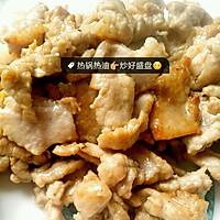莴笋肉饼炒猪肉的做法图解3