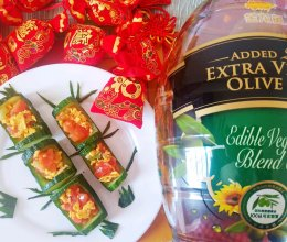 #新春美味菜肴#竹报平安柿柿红的做法