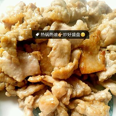 莴笋肉饼炒猪肉的做法 步骤3