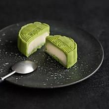 抹茶桃山月饼(低糖低油月饼 )