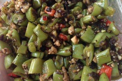 下饭四季豆橄榄菜