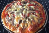 蘑菇披萨的做法