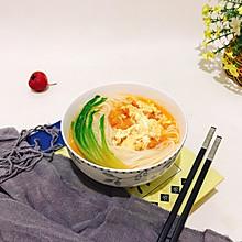 经典美味西红柿鸡蛋面#10分钟早餐大挑战#