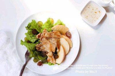 """鸡肉沙拉#在""""家""""打造ins风美食"""
