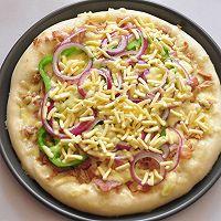 COUSS特约食谱——金枪鱼培根披萨的做法图解13